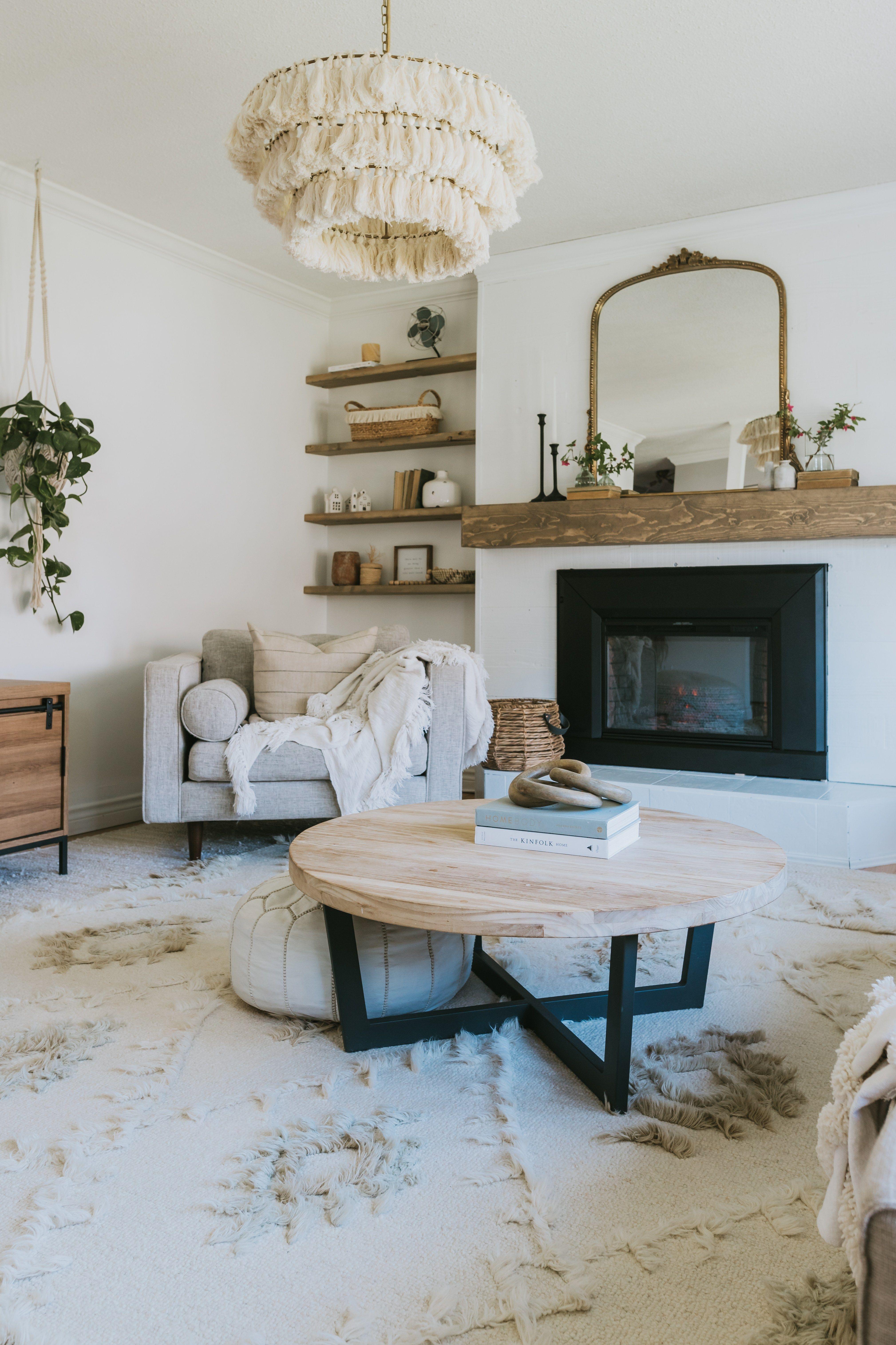 Photo of DIY Modern Wood Mantle – Jessica Sara Morris