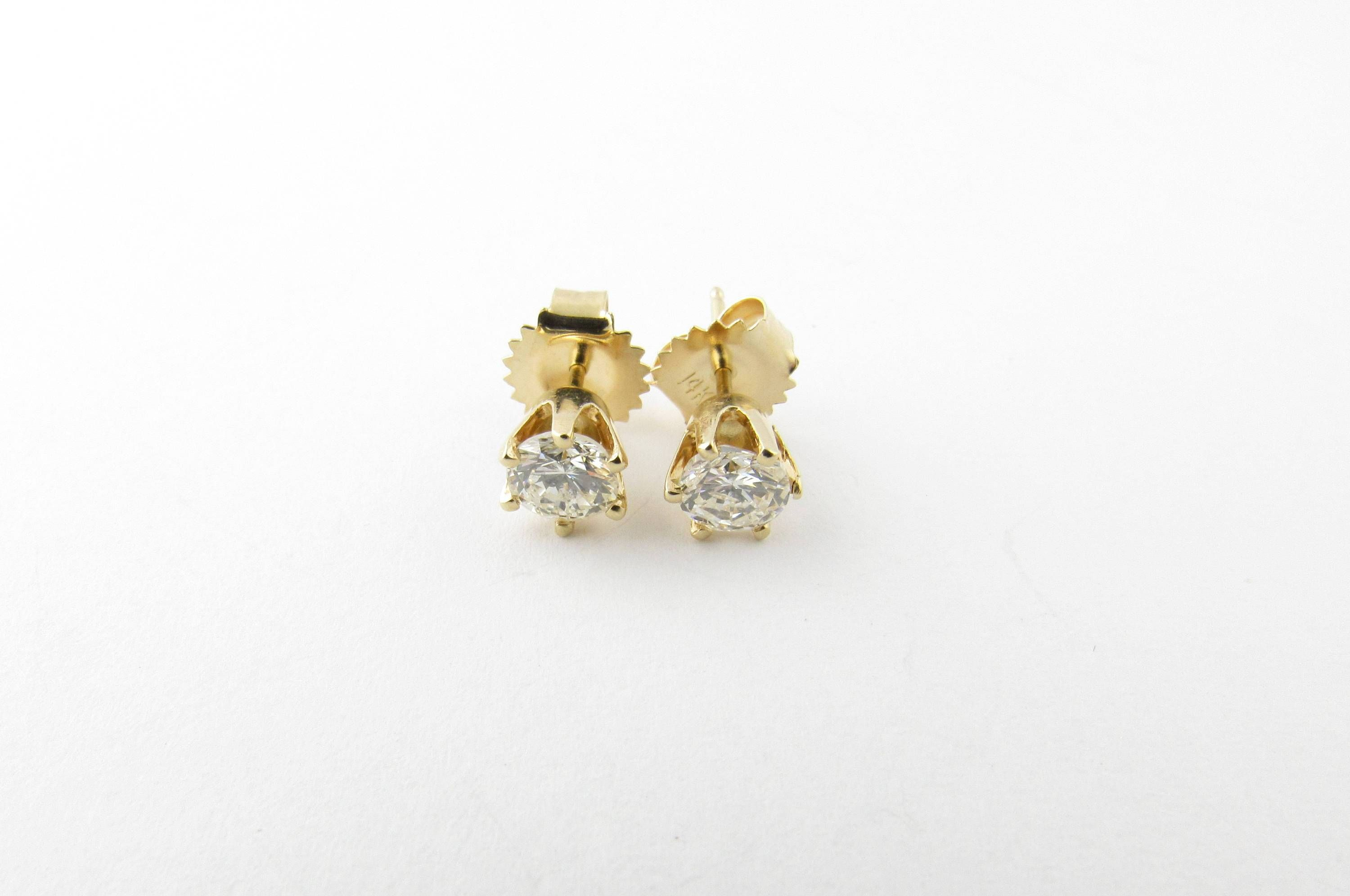 stud you the m david yellow one earrings diamond robinson gold re