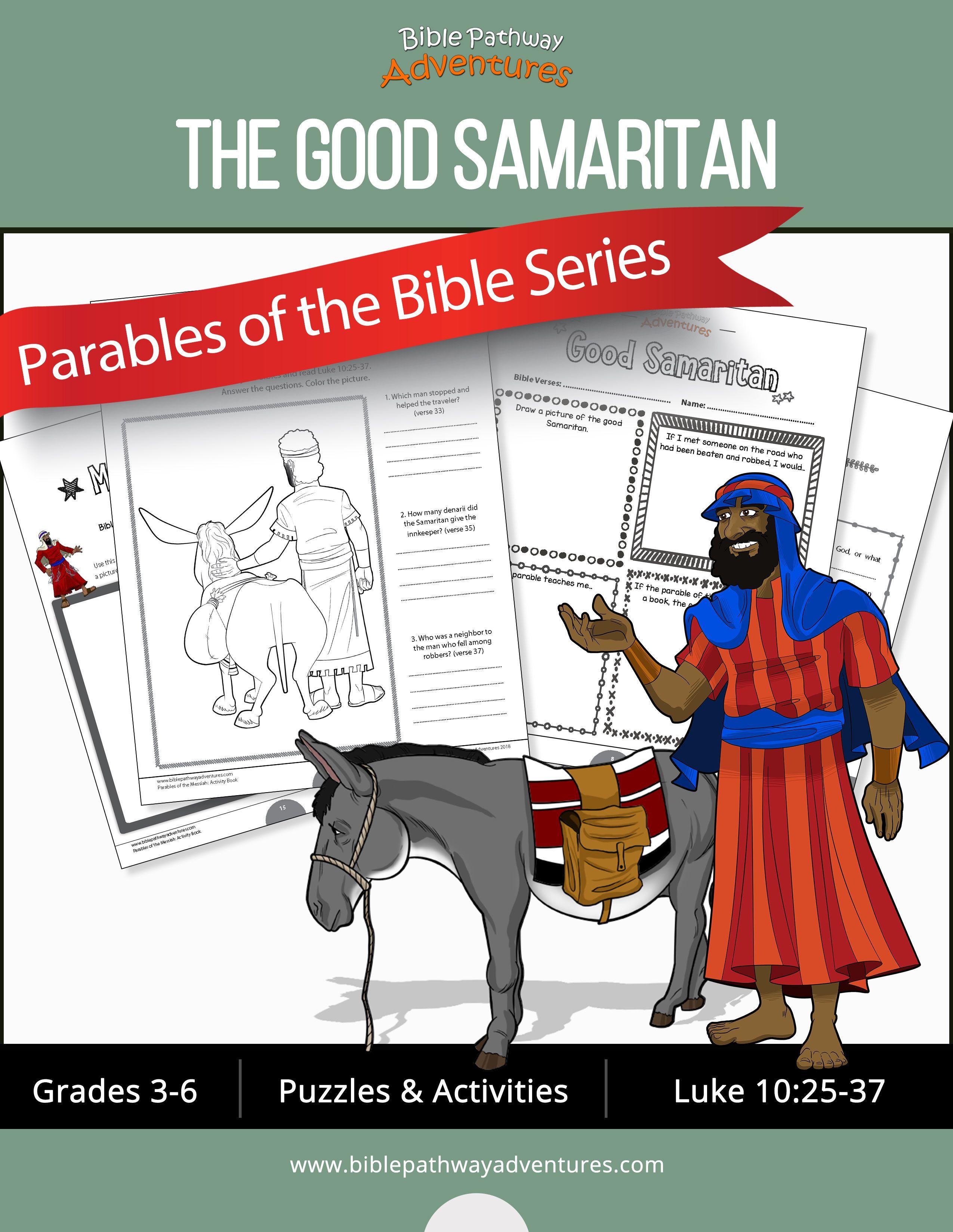 Bible Parable The Good Samaritan