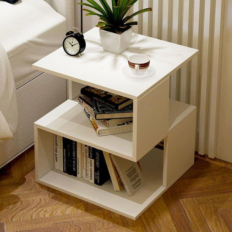 Simple Bedroom Nightstand Living Room Sofa Side Table Tea Table Mini Removable Small Coffee Table Bedroom Night Stands Living Room Table Simple Bedside Tables