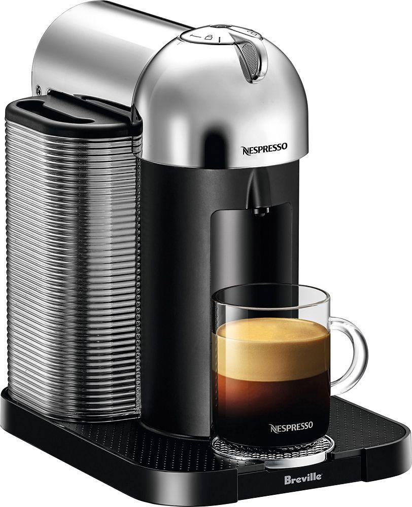 Nespresso Vertuo Coffee Maker and Espresso Machine Chrome
