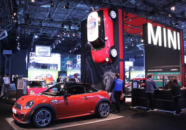 Mini Cooper Booth With Images