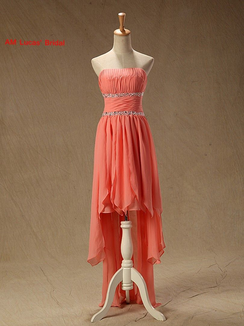 Click to buy ucuc new homecoming dresses high low chiffon th