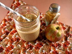 the preppy paleo: Paleo Apple-Peach Cobbler Shake