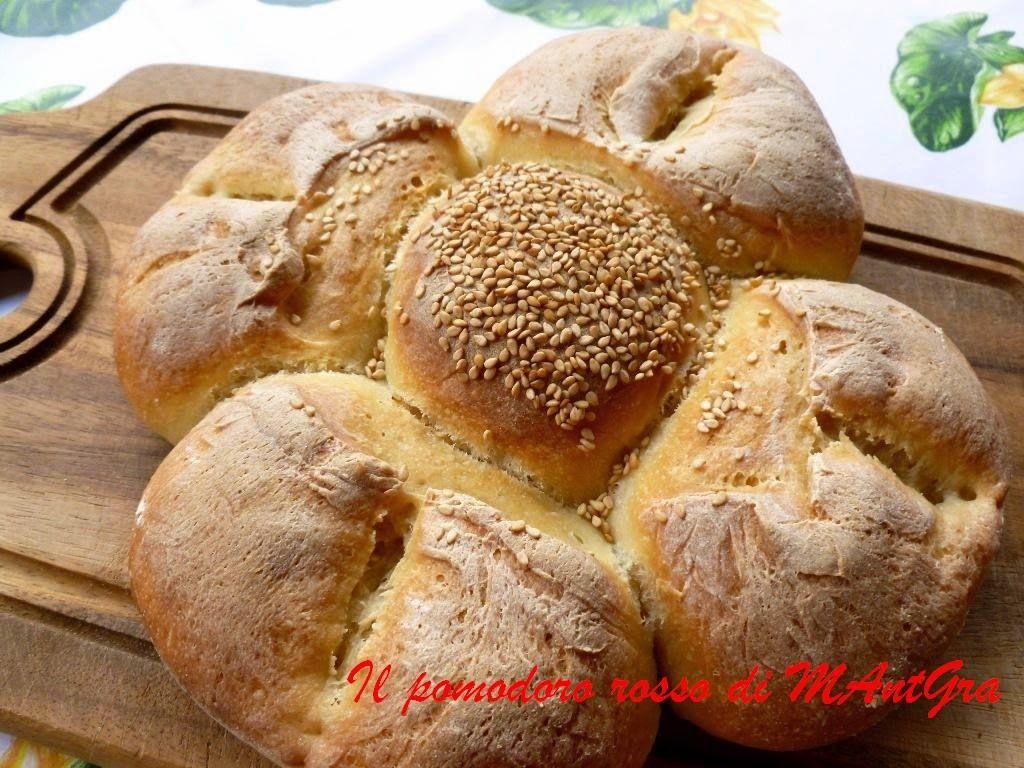 Il Pomodoro Rosso di MAntGra: Pane margherita