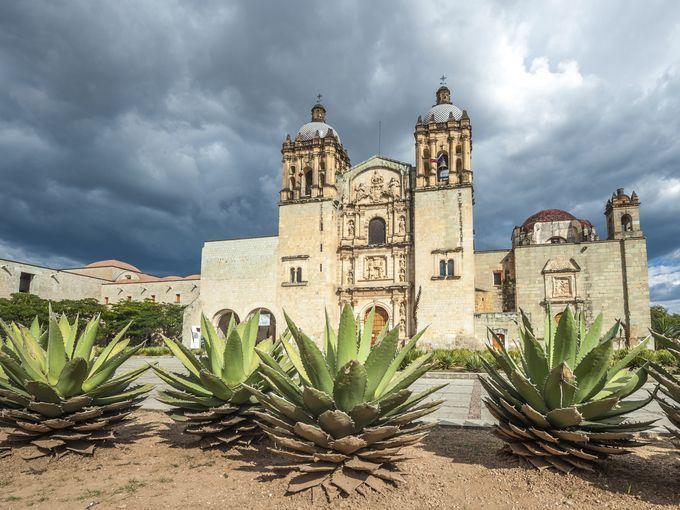 Church Of Santo Domingo De Guzman In Oaxaca Mexico Oaxaca City Oaxaca City Mexico Oaxaca