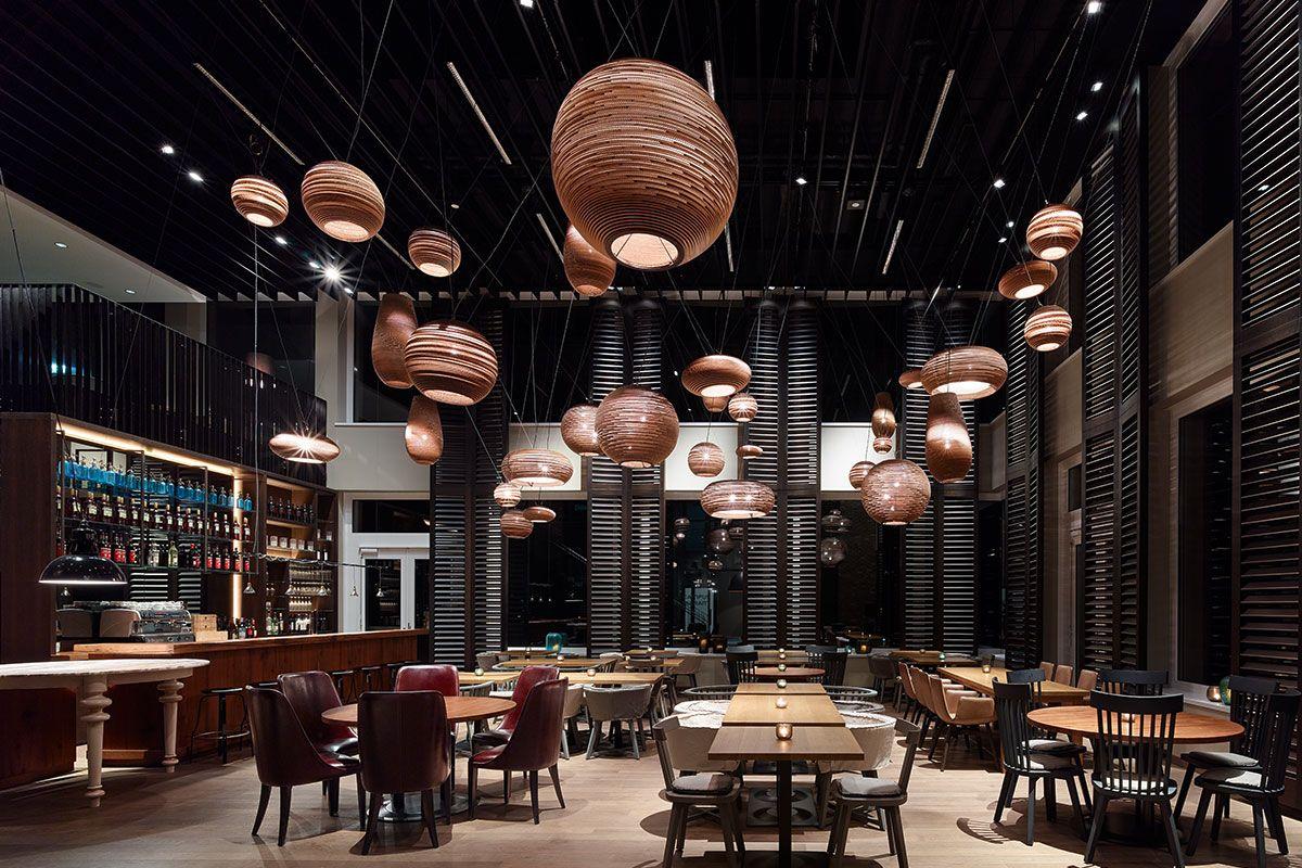 Motel One Mnchen Campus Restaurant Ein Projekt Von Ippolito Fleitz