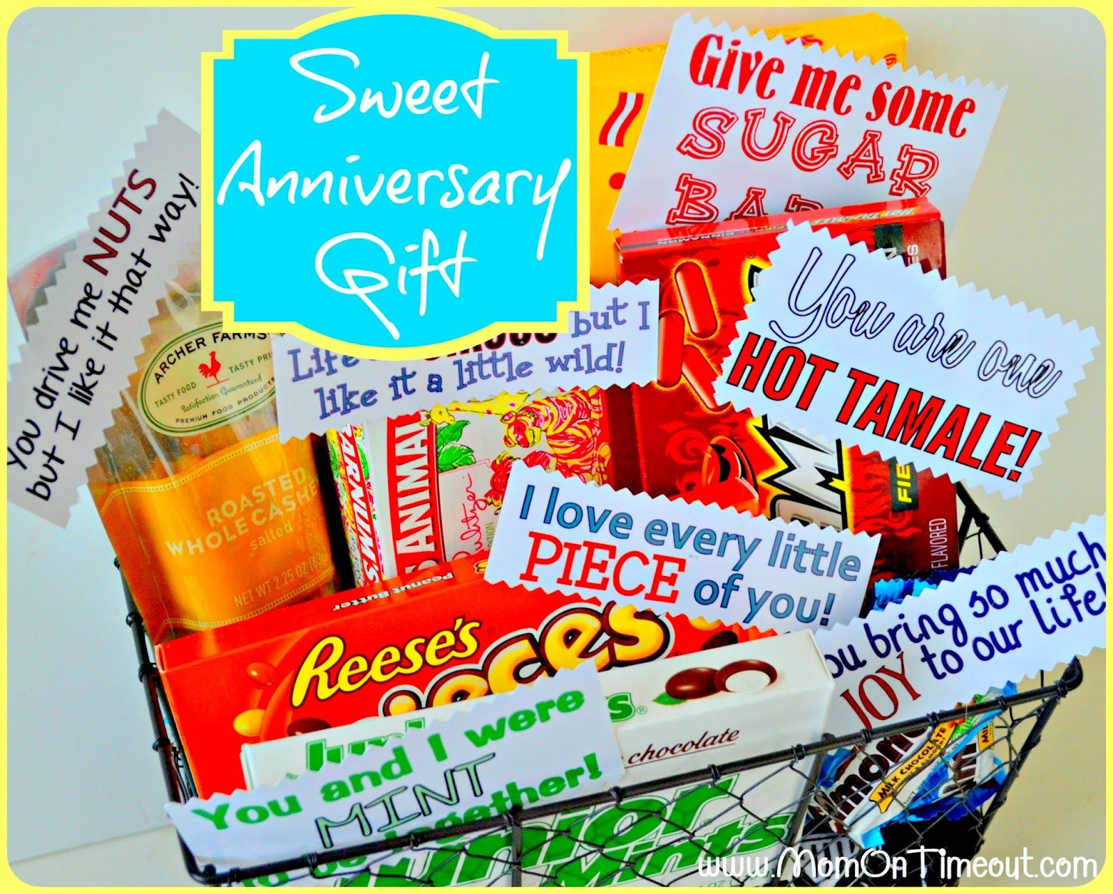 6th Year Wedding Anniversary Gifts For Him: Mom On Timeout: Sweet Anniversary Gift