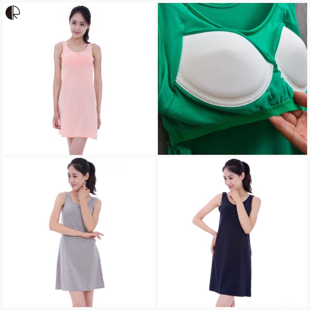 45++ Nightgown with built in bra ideas info