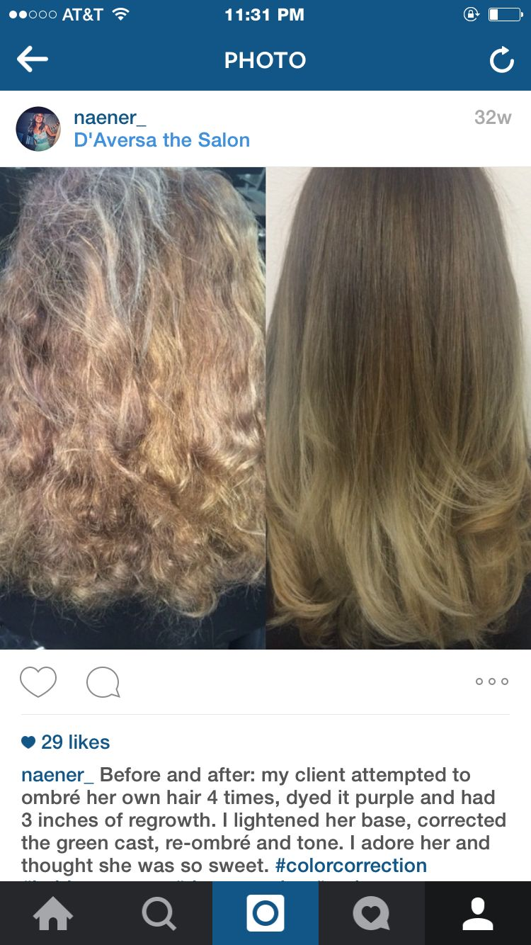 Instagram Naener Color Correction Hair By Nancy Vo Instagram