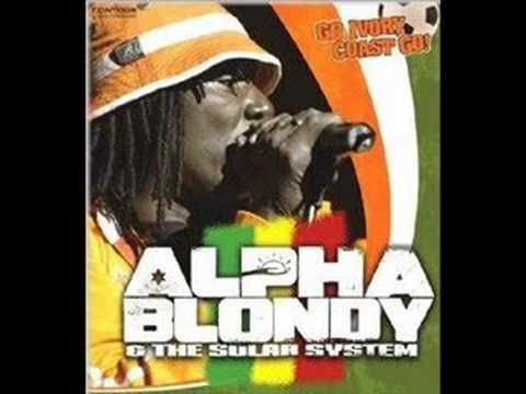 Alpha Blondy Cocody Rock With Lyric Alphas Chanson