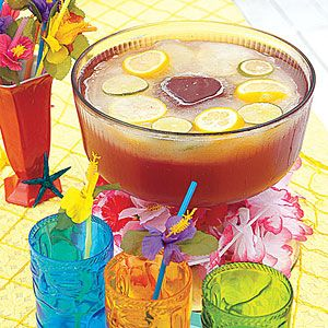 Tropical Punch | Recipe | Sodas, Punch and Ginger syrup