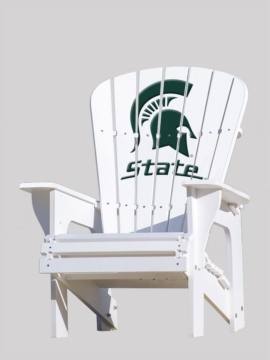 adirondack chair michigan state university products sillas rh pinterest es