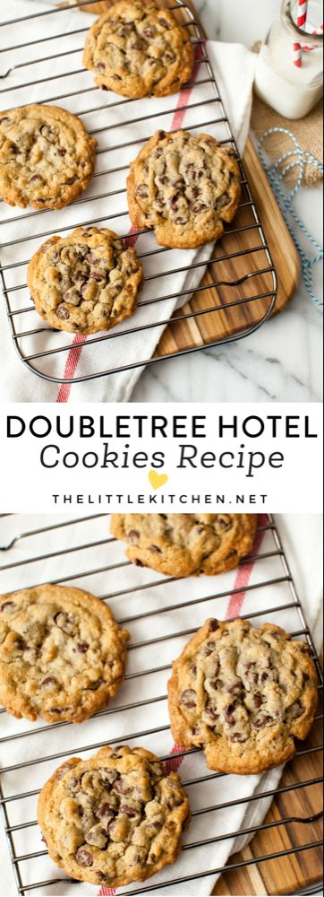 DoubleTree Cookie Recipe - The Little Kitchen