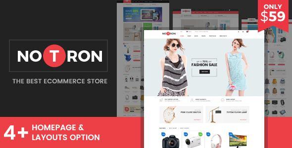 Notron - Fashion and Digital WooCommerce WordPress Theme . Notron ...