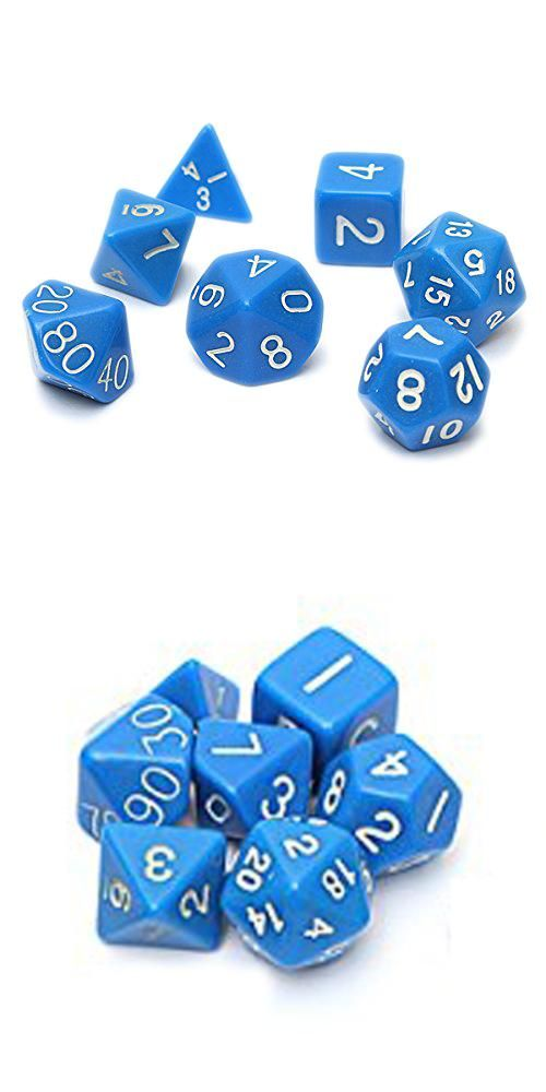 Visit to Buy Set 7PCS Dice Dice Die D4~D20 for Games Dungeons - dice resume