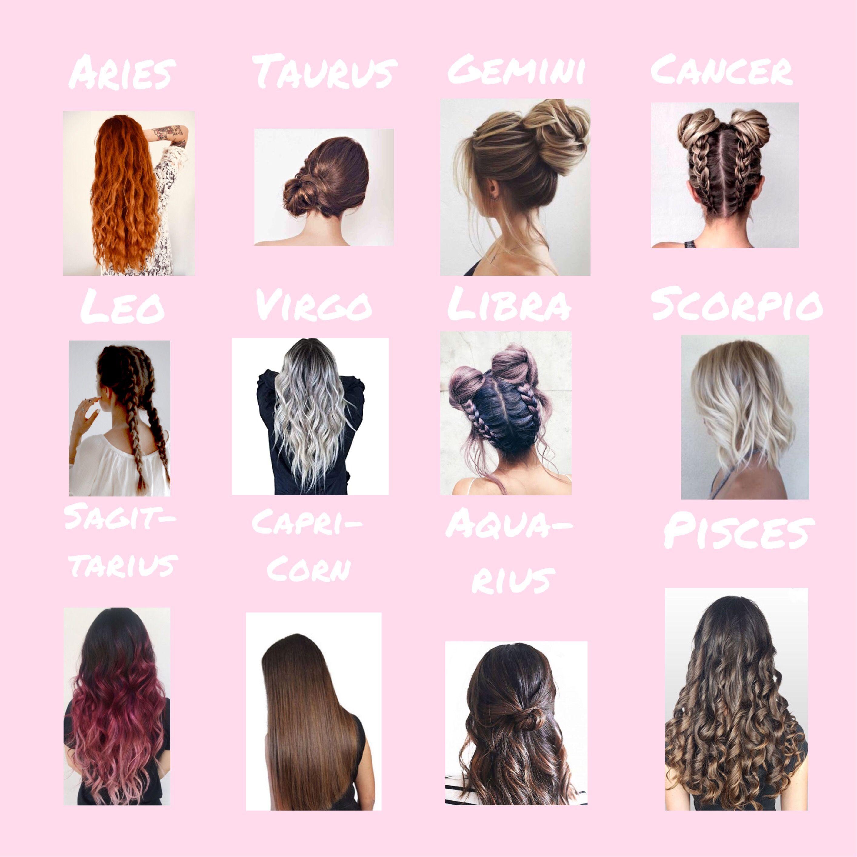 Hairstyles Sternzeichen Signs In 2020 Sternzeichen Sternzeichen Fische Zeichen