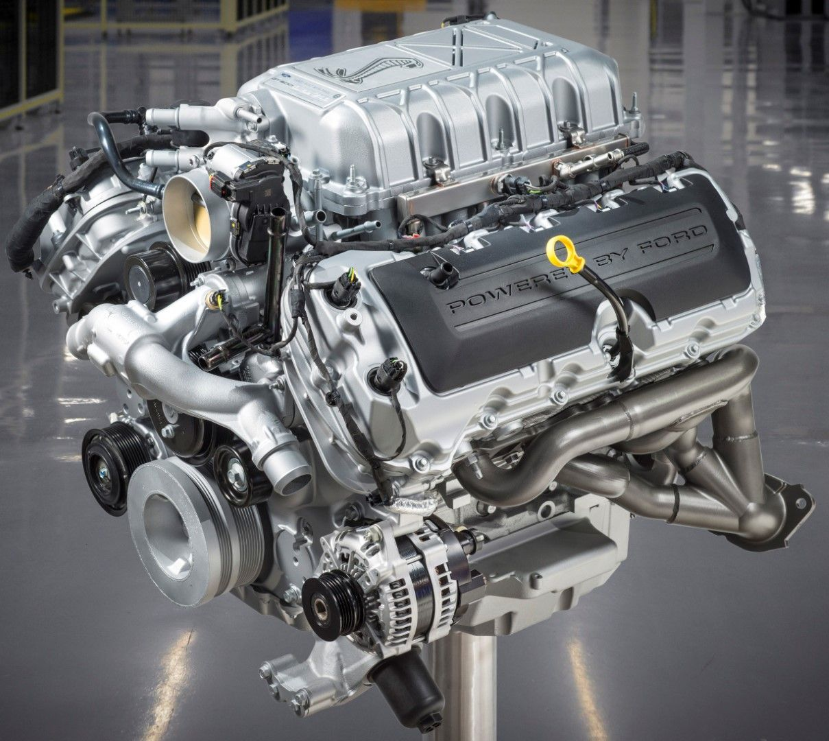 The 2020 Shelby Gt500 760 Horsepower 5 2 Liter V8 Engine Is The Most Power And Torque Dense Supercharged V8 In The World Ford Mustang Shelby Ford Mustang Shelby Gt500 Shelby Gt500