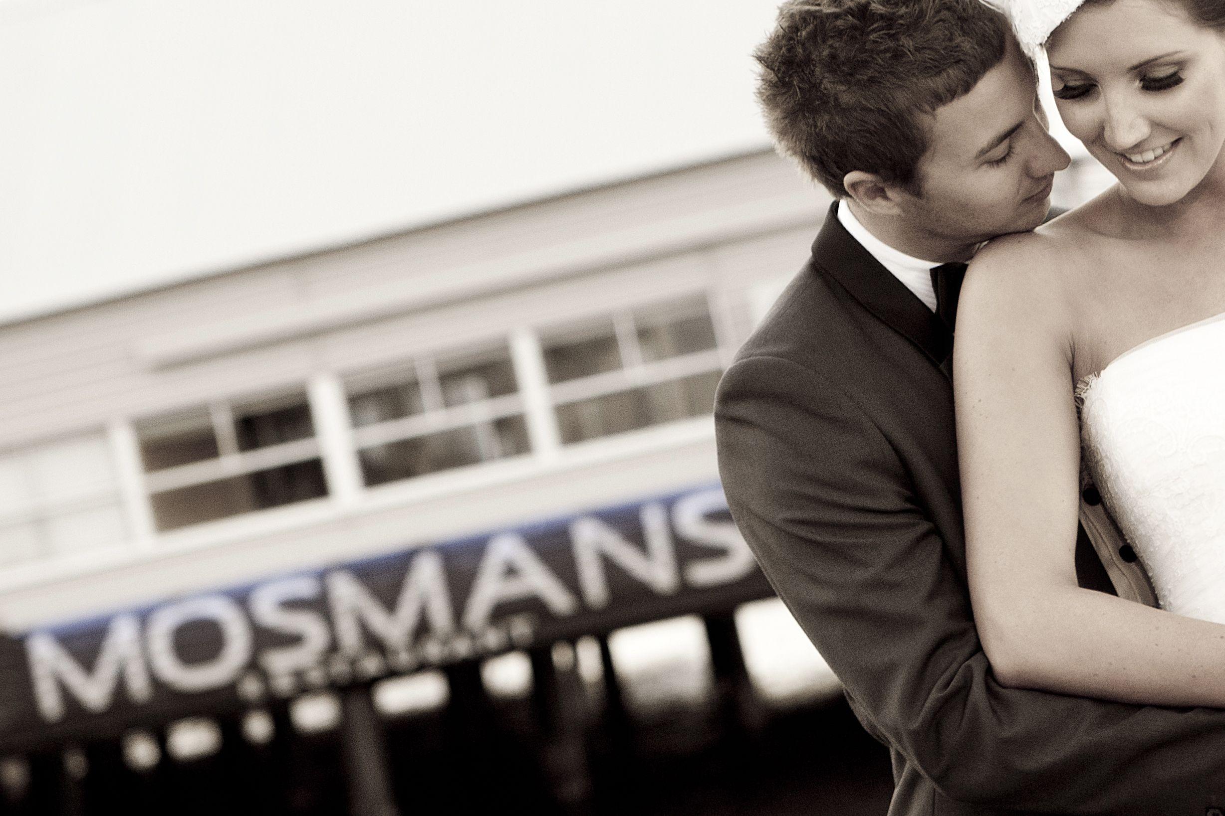 Wedding reception venue Mosmans Restaurant on the