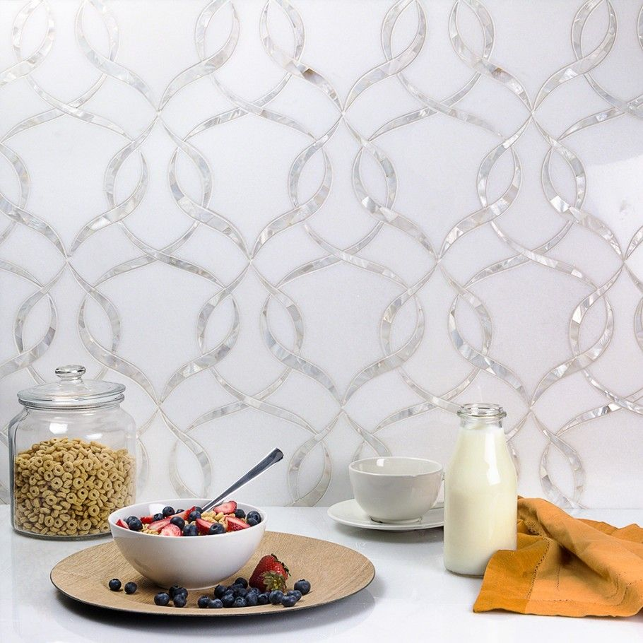 Arya Marble And Pearl Tile