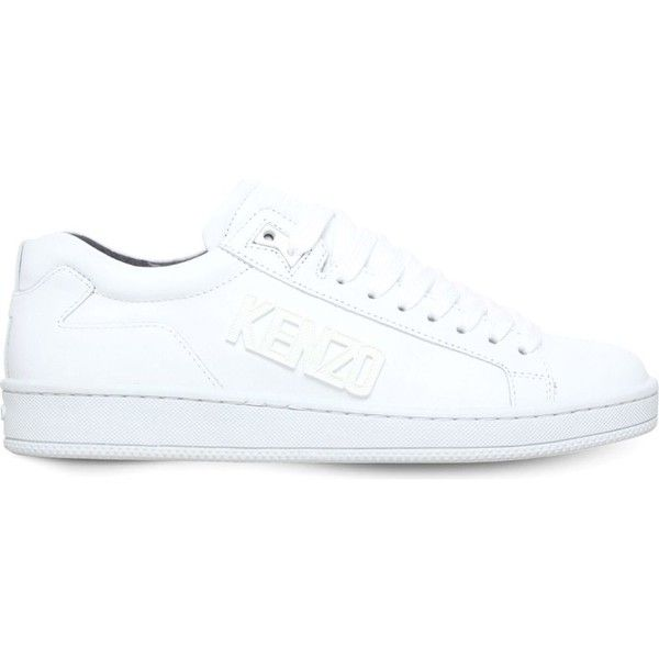 KENZO Tennix leather low-top trainers