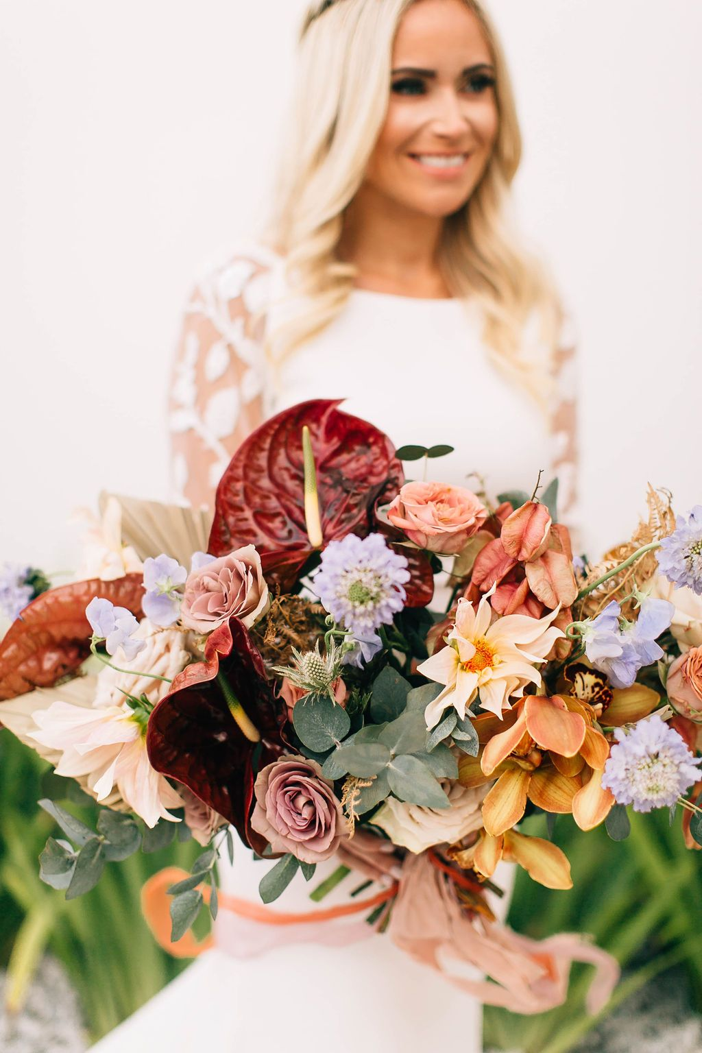 Colorful Wildflower Bridal Bouquet in 2020   Wildflower ...