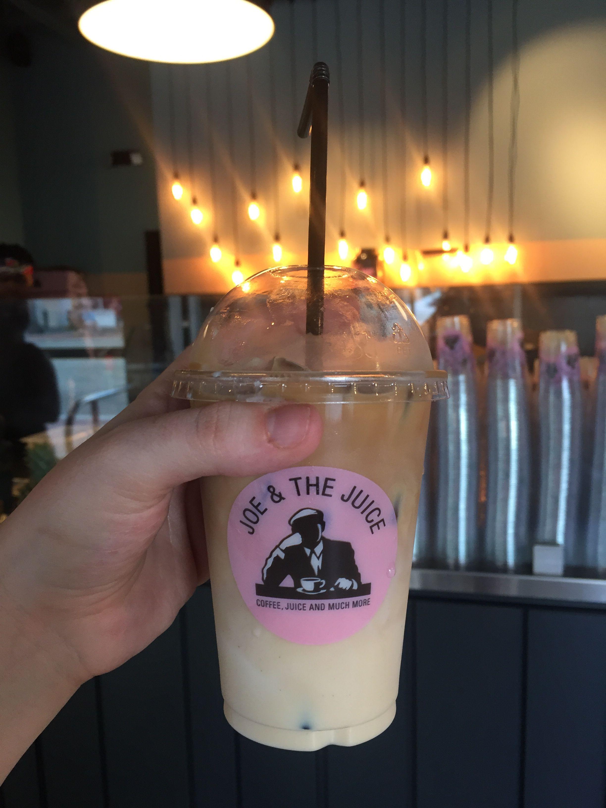 Iced coffee from joe the juice miami beach joe and