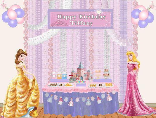 princess dessert table Sweet table Disney – Disney Princess Tea Party Invitations