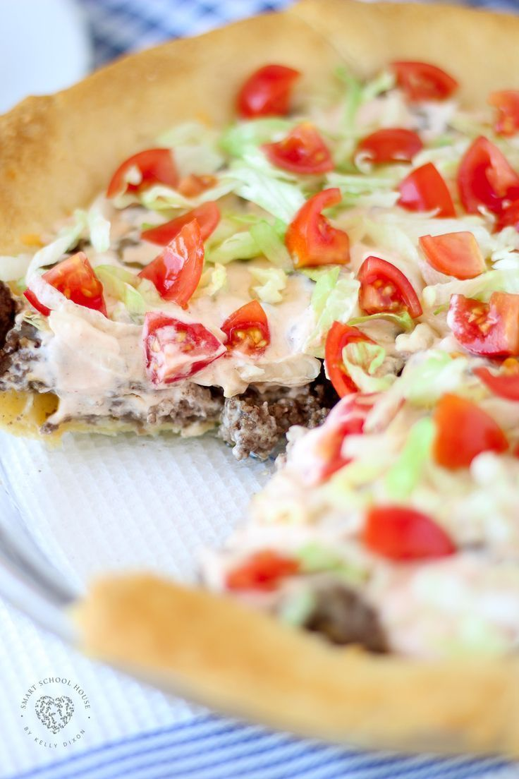 TACO PIE - an easy recipe for dinner! The secret sauce makes it over the top😋 images