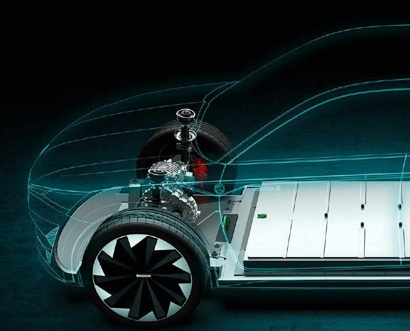 VisionEvisual All electric cars, Electric motor