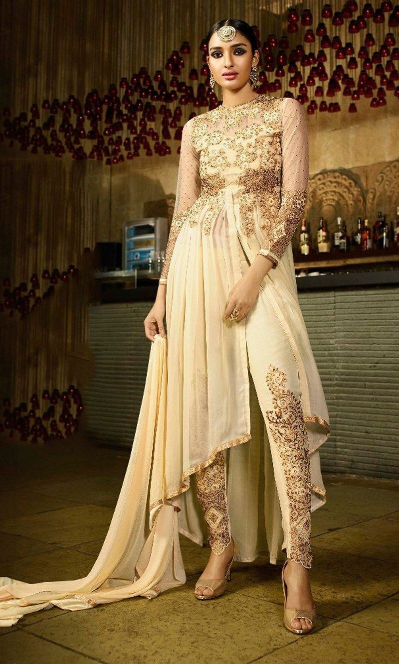 New party wear and wedding wear dress designs for girls fashion of