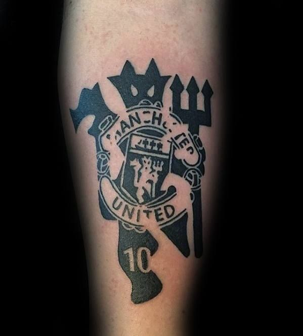40 Manchester United Tattoo Designs For Men Soccer Ideas Tattoo Designs Men Tattoos For Guys Man Utd Tattoo