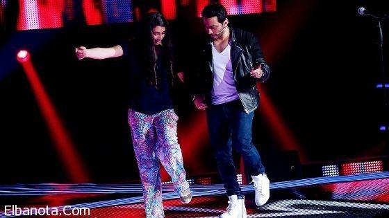 بالفيديو تامر حسني يرقص الدبكة في ذا فويس كيدز Concert