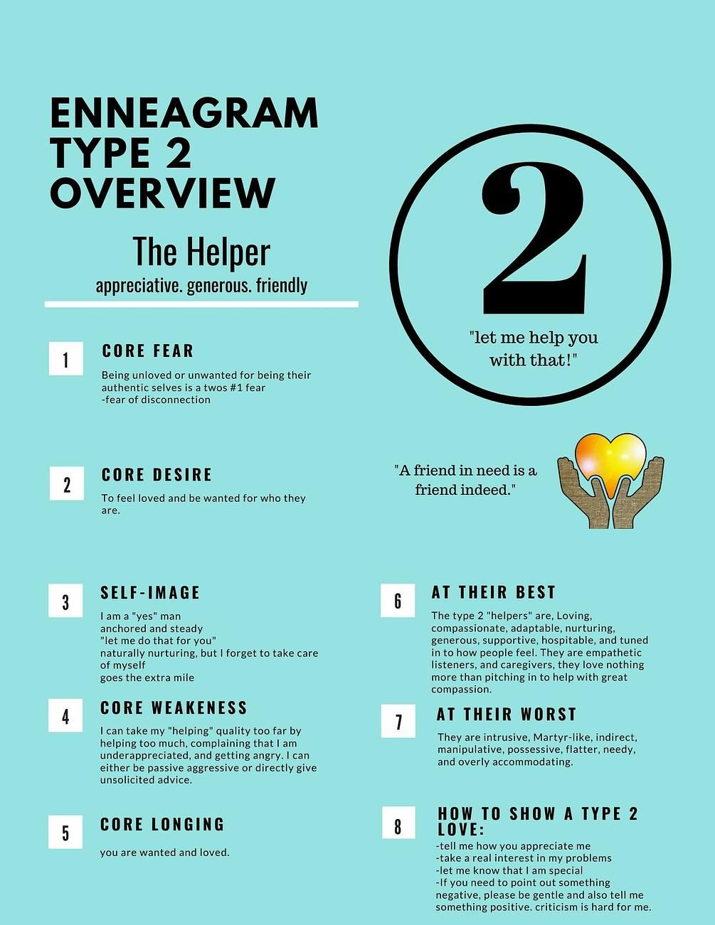 Enneagram Type 2 Overview