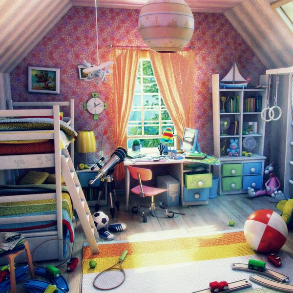 Farytale - Kids Room Illustration