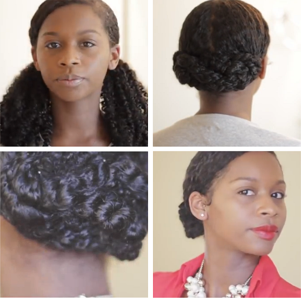 Low Criss Crossed Bun – Grown and Sexy Holiday Hair