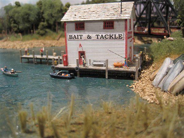 ho model train layout with lake | on Lake Erie - Model Railroading