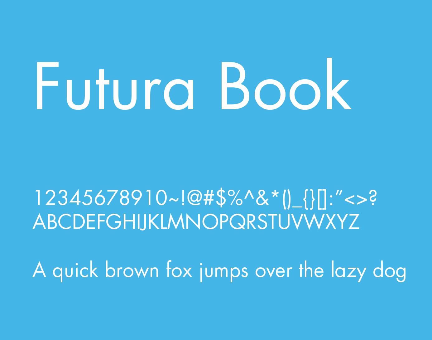 Futura Book Font Free Download   Fonts   Free fonts download, Italic