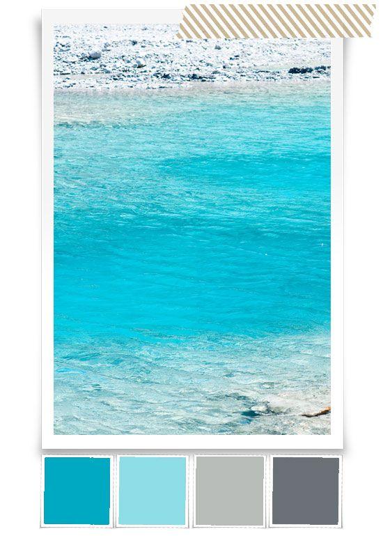 Glacier water - color scheme