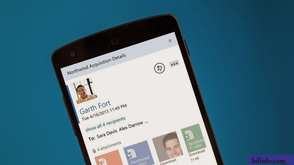 Microsoft Web Outlook now Available on some Android Device