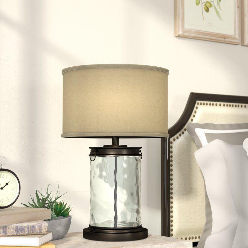 Blanchard 255 bronzeclear table lamp farmhouse table