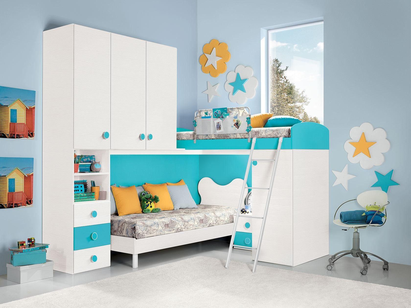 Azur Camerette ~ Best camerette images bedroom kids kid bedrooms