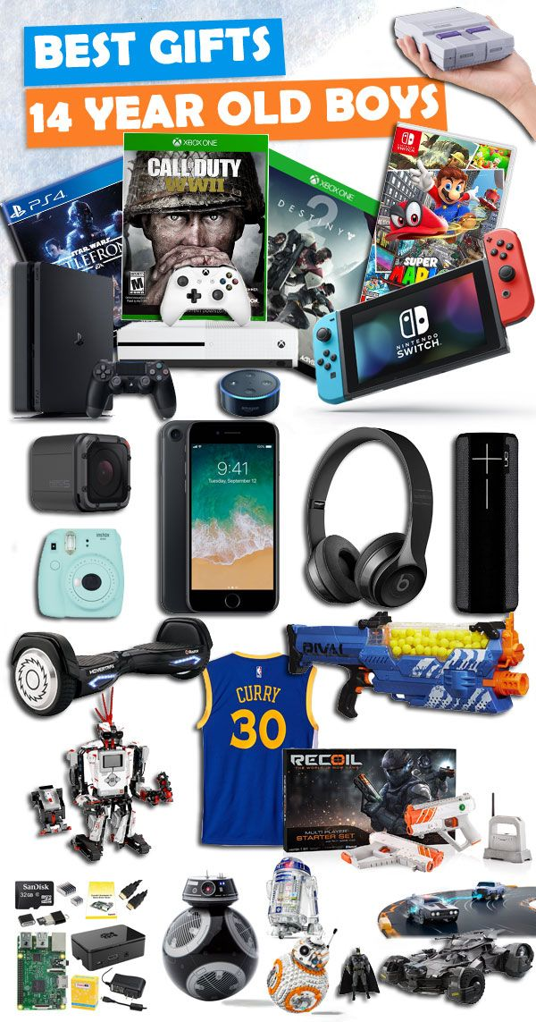 14 yr old boy christmas gift ideas