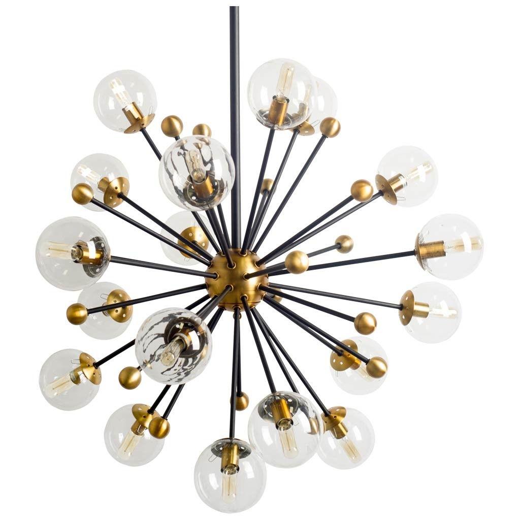 LampDecor Sputnik Lighting Laroque Chandelier Pendant uwOkXZiTP