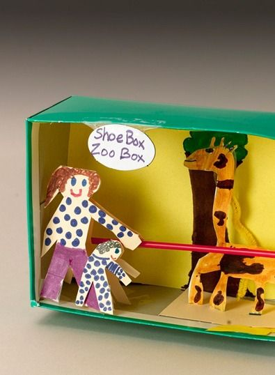 Make Your Own Diorama: Create A Zoo Diorama Right In A Shoebox For An Easy Kids