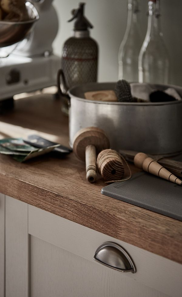 Pewter Cup Handles Provide The Perfect Finishing Touch To Your Shaker Style Kitchen Take A Cup Handles Kitchen Kitchen Cupboard Handles Shaker Style Kitchens