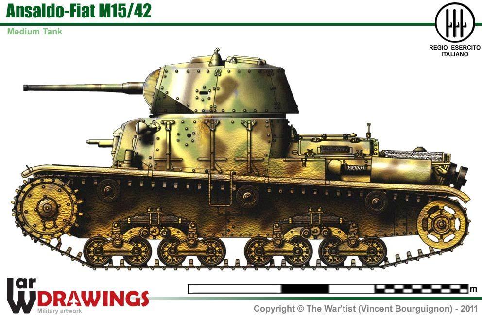 Carro Armato M15/42 Italian Medium Tank