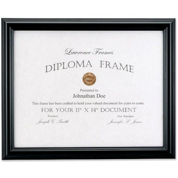 Lawrence Frames 11 X 14 Black Diploma Frame Domed Top 19 Liked On Polyvore Featuring Home Home Decor Fram Lawrence Frames Diploma Frame Document Frame