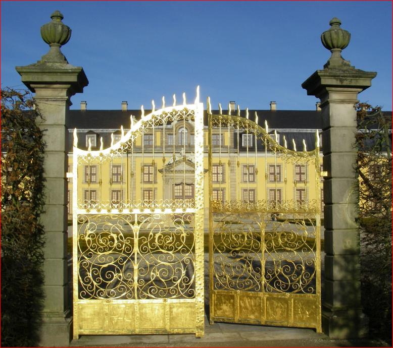 Goldenes Tor Hannover Herrenhauser Garten Deutschland Germany Hannover City Golden Gate Herrenhauser Gardens Park Germany Around The Worlds City