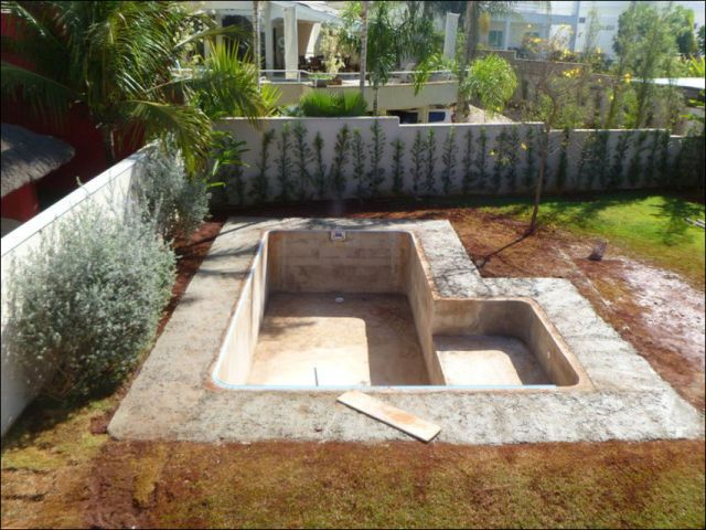 Diy swimming pool conversion albercas y m s pinterest for Cascadas prefabricadas